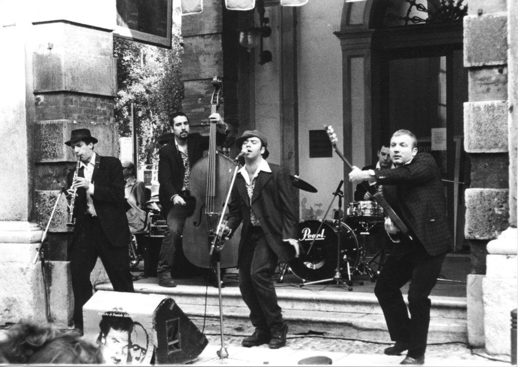 Cesena - concerto buskers 1997